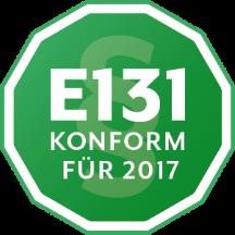 E131 konforme Registrierkasse